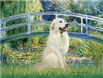 LILY POND BRIDGE<br>& Great Pyrenees