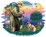 St. Francis #2 &<br> English Bulldog #3