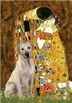 THE KISS &<br>Yellow Labrador