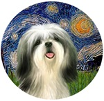 Shih Tzu #3<br>Starry Night