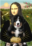 MONA LISA<br>& Bernese Mountain Dog Puppy