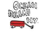 Ocean Beach Red Wagon T-shirts & Gifts