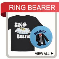 Ring Bearer T-shirts & Ringbearer Gifts