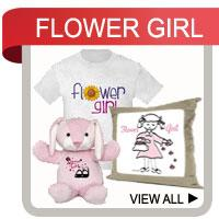 Flower Girl Gifts and T-shirts