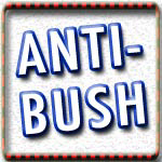 Anti-Bush T-shirts and No More Bush Shirts