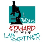 Edward Cullen Lab Partner T-shirts and Gifts
