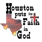 God Houston T-shirts Gifts for Houstonians