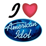 I Love American Idol T-shirts, AI Fan Gear