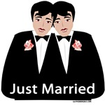 Gay Wedding Just Married Gifts & T-shirts