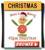 Vegan Christmas T-shirts and Gifts