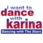 I Want to Dance with Karina T-shirts