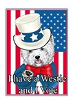 Uncle Sam Westie