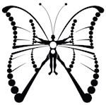 Mythi Team front Virtuvian Butterfly on back