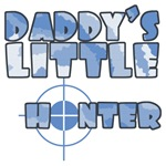 Daddy's Little Hunter Boy Kids & Infant T-Shirts