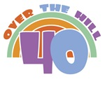 Over the Hill 40th Birthday T-Shirts