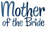 Cool Country Mother of the Bride Blue T-Shirts