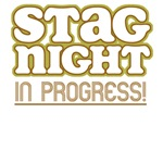 Retro Stag Night Bachelor Party T-Shirts & Gifts