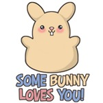 Some Bunny Loves You T-Shirts & Gifts