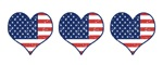 Little Patriotic Hearts