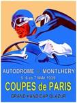 Autodrome Vintage 1939 Grand Prix Auto Racing Adve