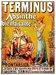 Absinthe Terminus Print