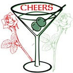 OYOOS Cheers Cocktail Flowers design