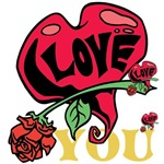 OYOOS Love You Heart design