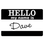Personalize These:  Hello My Name Is