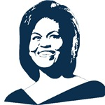 Michelle Obama (face) 