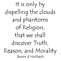 D'holbach quote