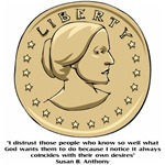 Susan B. Anthony stuff