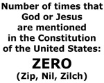 No God in Constitution