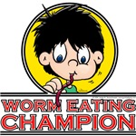 Worm Eating Champion!