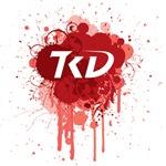 TKD Splatter Red