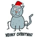 Meowy Christmas Tees