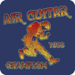 Retro Air Guitar T-Shirt