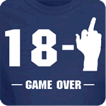 18-1 Game Over T-Shirt