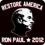 Ron Paul Restore American Now 2012 T-Shirt