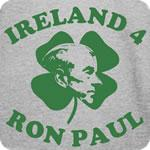 Ireland For Ron Paul T Shirt