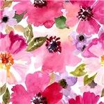 Pink Watercolor Peonies