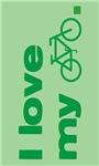 I love my bike (with image) stickers