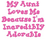 Aunt says i'm adorable