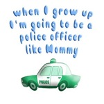 Police officer like Mommy
