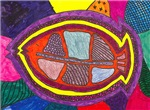 Folk Art Fish