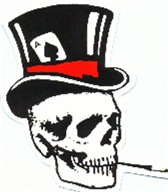 SKULL WITH TOP HAT III™