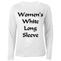 YeshuaWear.com Women's White Long Sleeve Shirts