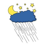 Nighttime Rainstorm