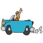Cartoon Car Guy
