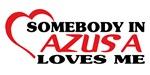 Somebody in Azusa Loves me