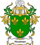 Houtman Coat of Arms, Family Crest